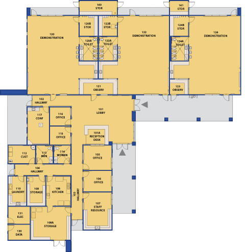 Child Development Center Floor Plan